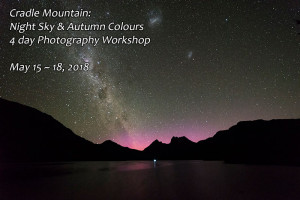 Cradle Mountain Night Sky Photography Workshop Autumn 2018
