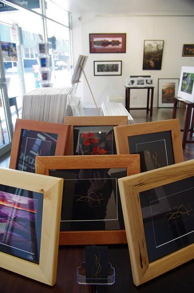 Tasmanian Timber Frames, Landscapes Gallery, Hobart