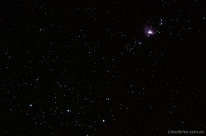 Orion Nebula. 60 second exposure using Pentax K5 & Astro Tracer (OGPS1)