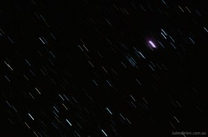 Orion Nebula. 60 second exposure without Astro Tracer (OGPS1)