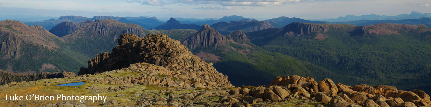 Mt Ossa and the Tasmanian Wilderness World Heritage area