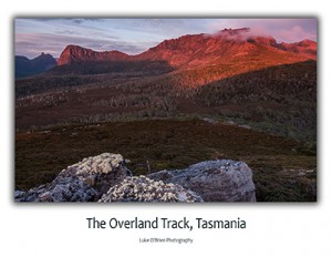 Tasmanian Photo Cards - Overland Track