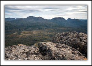 Overland Track, Mt Oakleigh Summit
