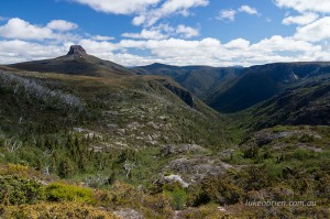 Barn Bluff from Tasmania's Overland Track