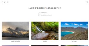 Luke O'Brien Photography Tasmanian landscape photographer