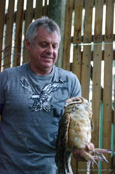 Raptor Refuge - Masked Owl Release Oct 2011