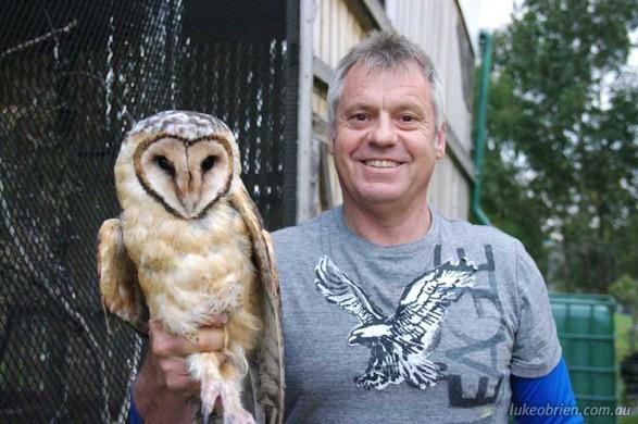 Raptor Refuge Masked Owl Release Oct 2011