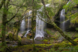 The sublime Rinadena Falls in the Walls of Jerusalem National Park