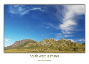 Postcard Tasmania South West Sentinels