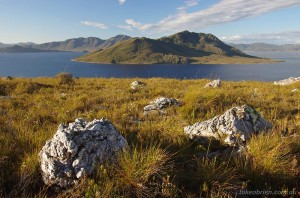 South West Tasmania - Lake Pedder from Red Knoll Lookout