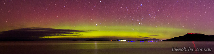The Southern Lights, Tasmania
