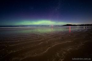 southern lights tasmania
