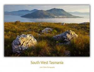 Photo Cards Tasmania South West - Lake Pedder