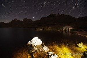Startrails Cradle Mountain Tasmania