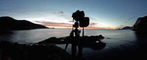 Pentax K1 shooting the sunrise at Freycinet Tasmania