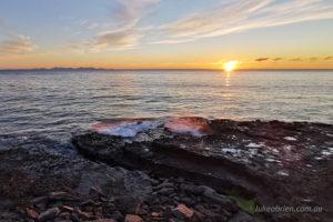 sunrise maria island