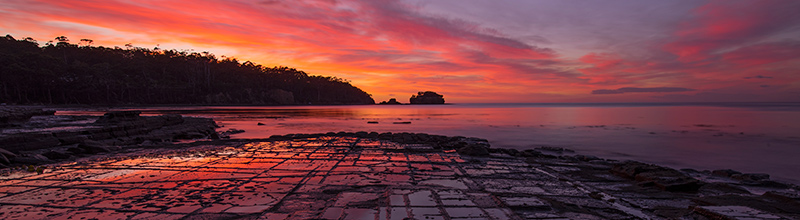 sunrise tessellated pavement