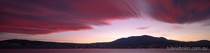 Sunset Hobart