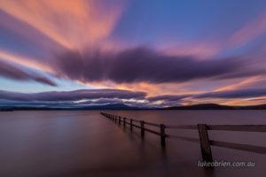 Sunset Mortimer Bay