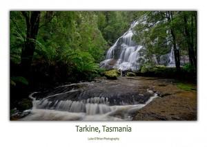 Tasmanain Postcards - McGowans Falls in Tasmania's Tarkine