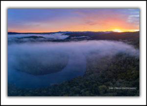 Sunrise Tarkine Tasmania