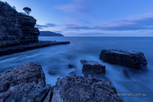 Long exposure seascape photography