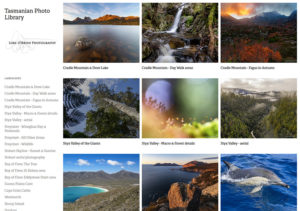 tasmanian image stock library