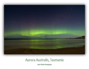 Tasmanian Postcards - Aurora Australis