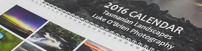 Tasmanian Landscapes Calendar 2016