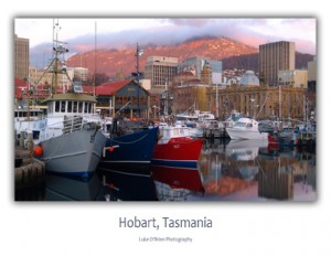 Tasmanian Postcards - Hobart Waterfront