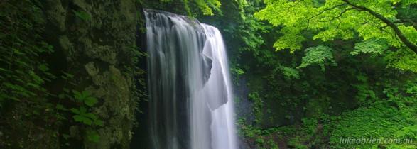 Tatsuzawafudou Falls, Fukushima