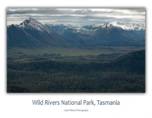 Postcards of Tasmania - Wild Rivers National Park
