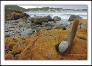 Tyrone Jaspers Tasmanian Sculpture King Island IV