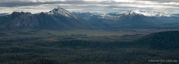 Tasmanian photography locations: South West Tasmania