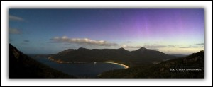 Wineglass Bay Aurora Tasmania